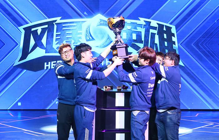 东区决赛3月17日开启 风暴英雄HGC世锦赛中国队介绍
